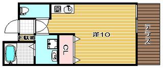 高槻市賃貸アパート プロースト高槻|間取.jpg