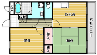 高槻市賃貸アパート ルヴェール栗田|間取.jpg