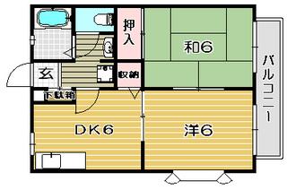 高槻市賃貸アパート B−LINE一路|間取.jpg