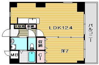 三島郡島本町賃貸マンション fiore水無瀬|間取.jpg