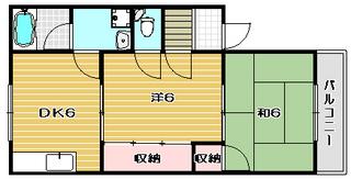 高槻市賃貸マンションサンハイツカワバタ カラー.jpg