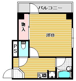 高槻市賃貸マンション 万里乃ビル 間取り.jpg